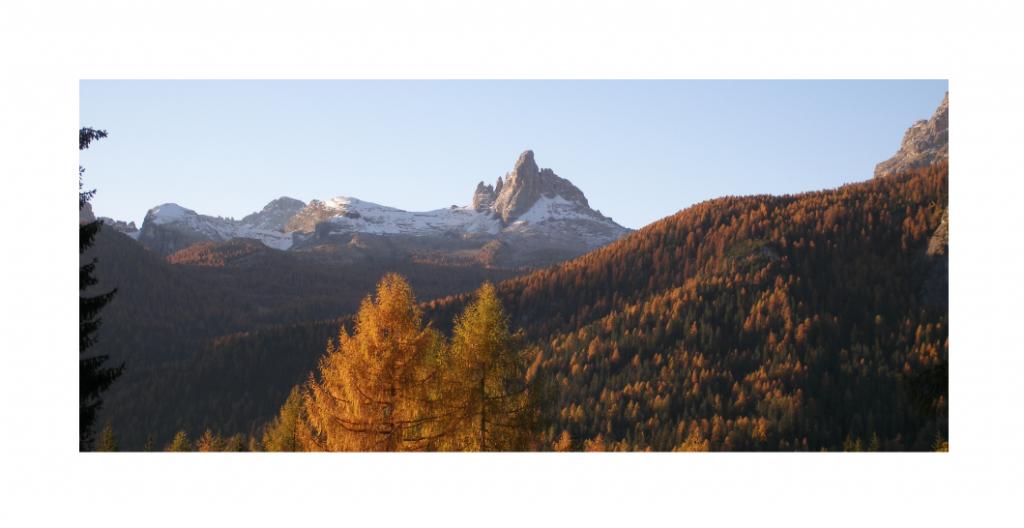 A Cortina d'Ampezzo, come in molte località europee